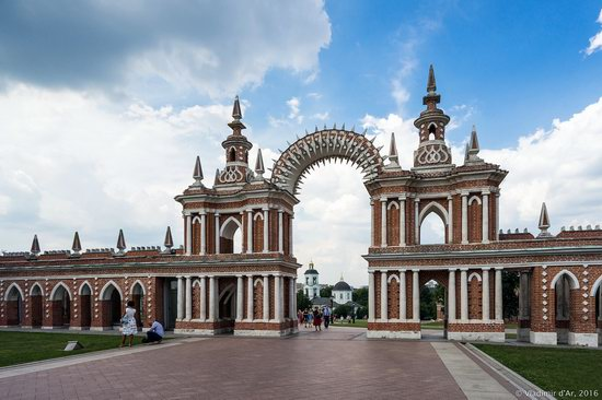 Tsaritsyno Museum-Reserve in Moscow, Russia, photo 22