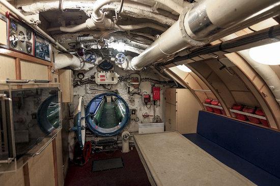 Soviet submarine-museum in St. Petersburg, Russia, photo 12