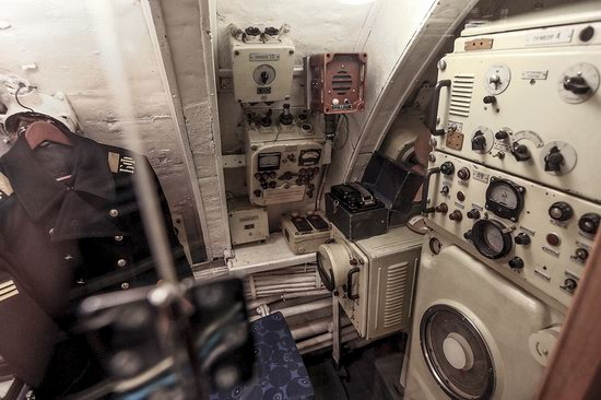 Soviet submarine-museum in St. Petersburg, Russia, photo 15