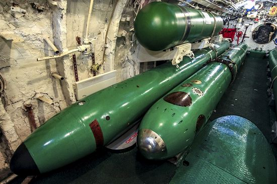 Soviet submarine-museum in St. Petersburg, Russia, photo 25