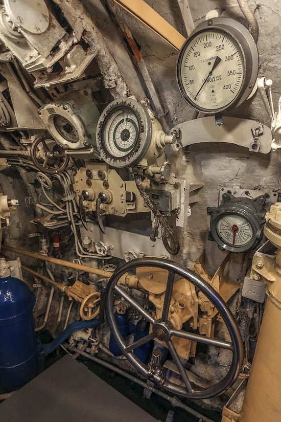 Soviet submarine-museum in St. Petersburg, Russia, photo 4