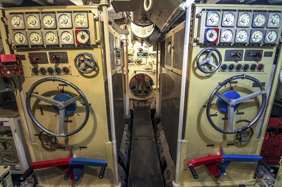 Soviet submarine-museum in St. Petersburg, Russia, photo 6