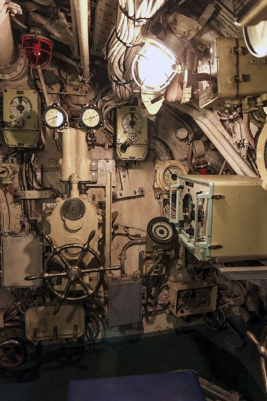 Soviet submarine-museum in St. Petersburg, Russia, photo 8