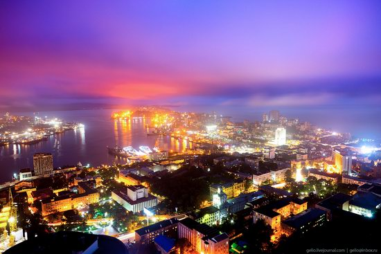 Vladivostok, Russia - the view from above, photo 1