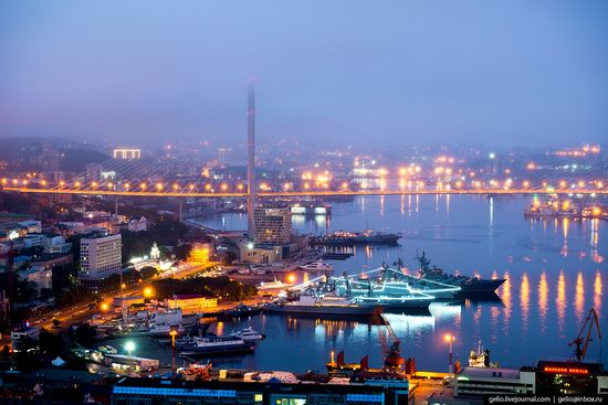 Vladivostok, Russia - the view from above, photo 12