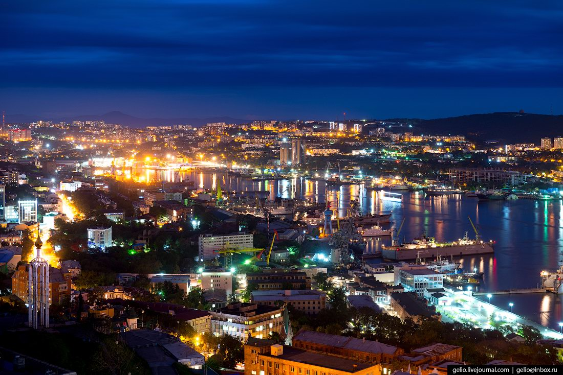 Vladivostok – the view from above · Russia travel blog