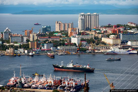 Vladivostok, Russia - the view from above, photo 2