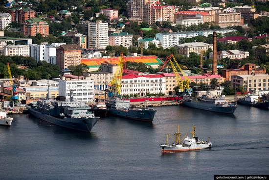 Vladivostok, Russia - the view from above, photo 22