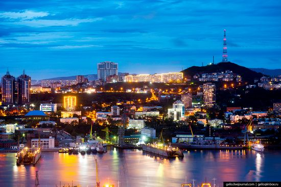Vladivostok, Russia - the view from above, photo 23