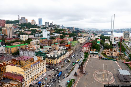 Vladivostok, Russia - the view from above, photo 3
