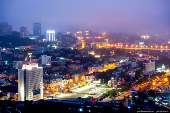 Vladivostok, Russia - the view from above, photo 4