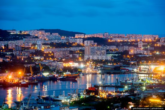 Vladivostok, Russia - the view from above, photo 8