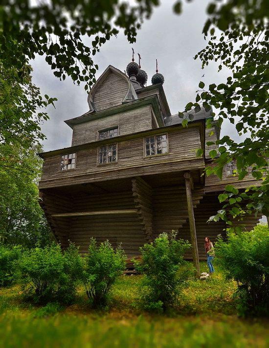 Assumption Church in Nelazskoye, Vologda region, Russia, photo 10