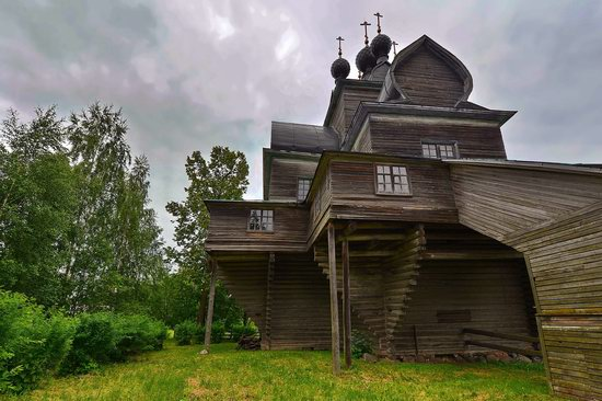 Assumption Church in Nelazskoye, Vologda region, Russia, photo 3