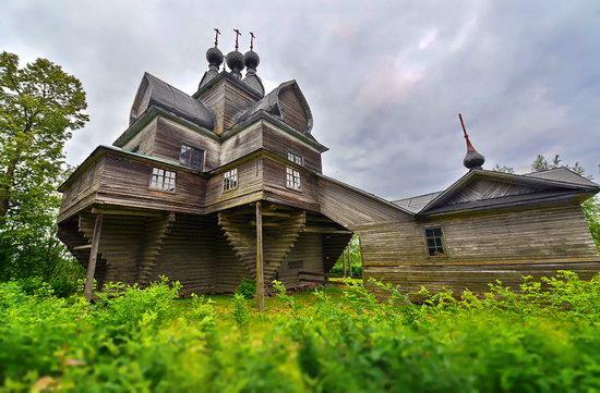 Assumption Church in Nelazskoye, Vologda region, Russia, photo 6