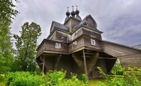 Assumption Church in Nelazskoye, Vologda region, Russia, photo 7