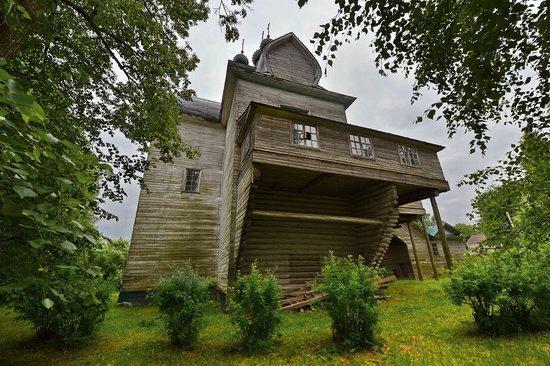 Assumption Church in Nelazskoye, Vologda region, Russia, photo 8