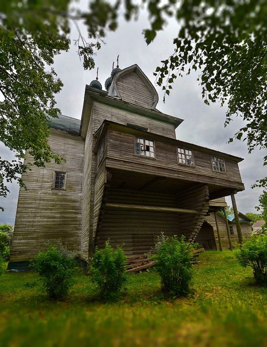 Assumption Church in Nelazskoye, Vologda region, Russia, photo 9