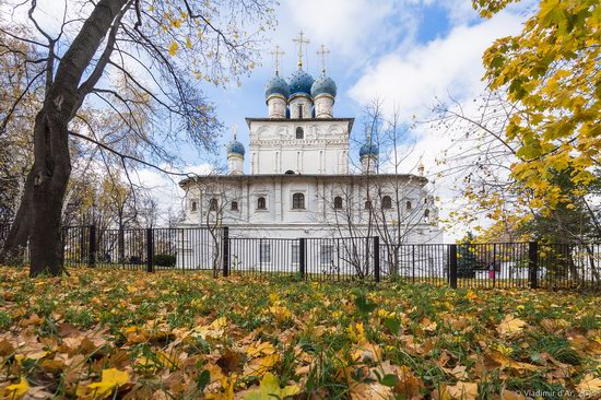 Golden autumn in Kolomenskoye, Moscow, Russia, photo 18