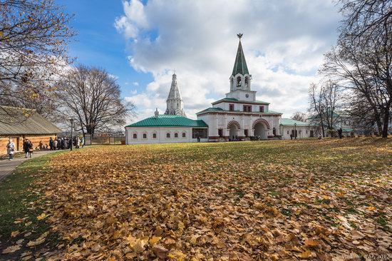 Golden autumn in Kolomenskoye, Moscow, Russia, photo 19