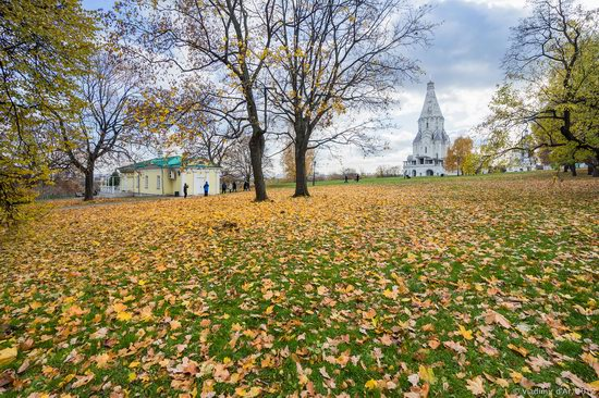 Golden autumn in Kolomenskoye, Moscow, Russia, photo 24