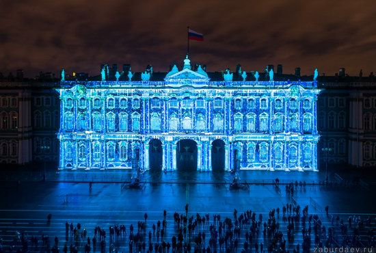 Festival of Lights in St. Petersburg, Russia, photo 2