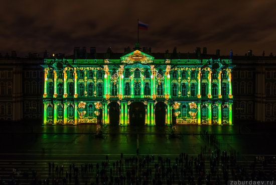 Festival of Lights in St. Petersburg, Russia, photo 4