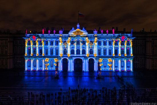 Festival of Lights in St. Petersburg, Russia, photo 5