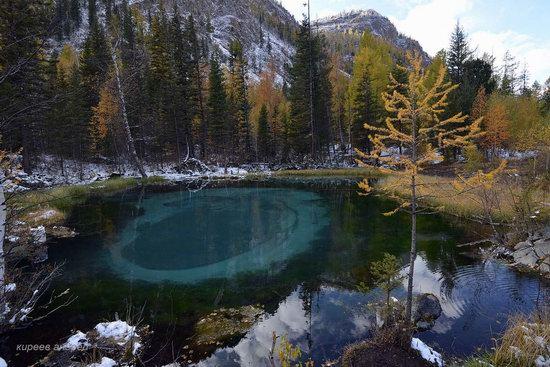 Geyzernoye (Blue) Lake, Altai Republic, Russia, photo 1
