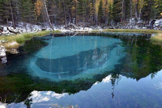 Geyzernoye (Blue) Lake, Altai Republic, Russia, photo 12
