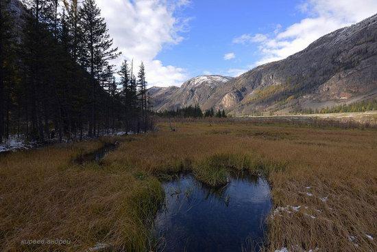 Geyzernoye (Blue) Lake, Altai Republic, Russia, photo 4