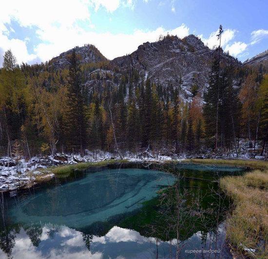Geyzernoye (Blue) Lake, Altai Republic, Russia, photo 6