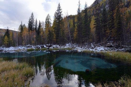 Geyzernoye (Blue) Lake, Altai Republic, Russia, photo 7
