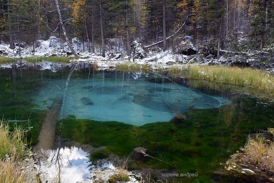 Geyzernoye (Blue) Lake, Altai Republic, Russia, photo 8