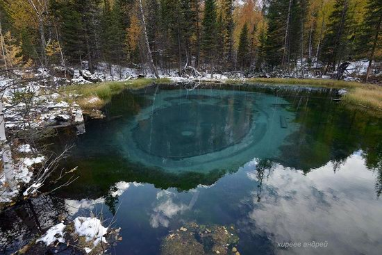 Geyzernoye (Blue) Lake, Altai Republic, Russia, photo 9