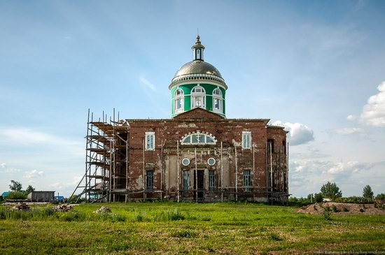 Trinity Church in Novotroitskoye, Lipetsk region, Russia, photo 12