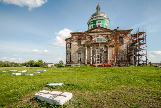 Trinity Church in Novotroitskoye, Lipetsk region, Russia, photo 14