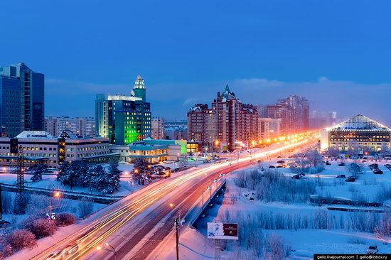 Surgut, Russia - the view from above, photo 1