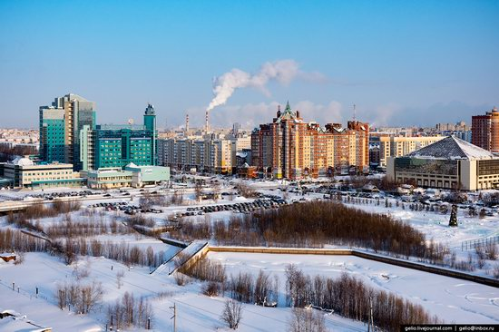 Surgut, Russia - the view from above, photo 10
