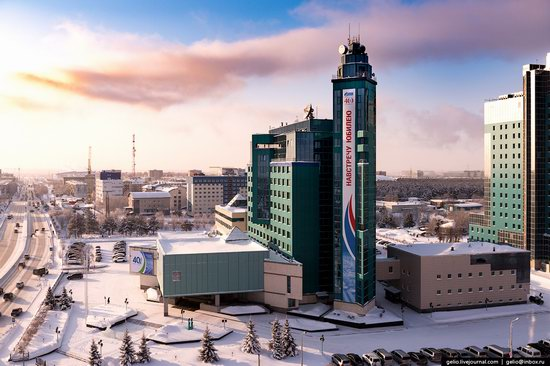 Surgut, Russia - the view from above, photo 11