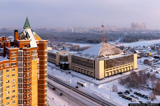 Surgut, Russia - the view from above, photo 12
