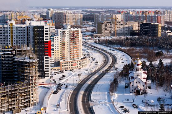 Surgut, Russia - the view from above, photo 13