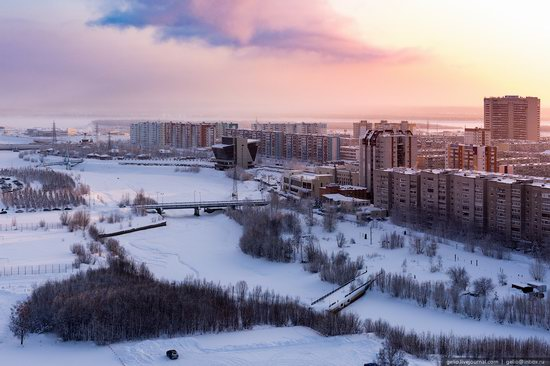 Surgut, Russia - the view from above, photo 14