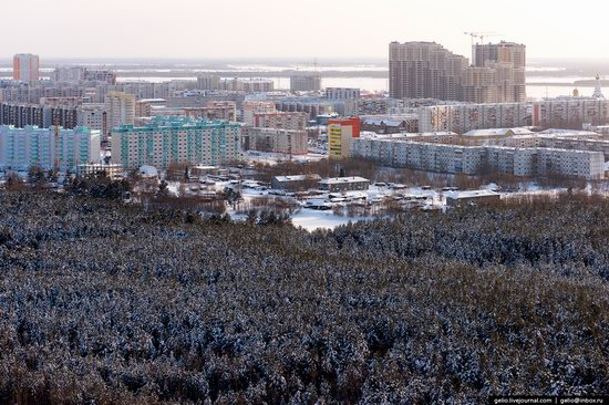 Surgut, Russia - the view from above, photo 16