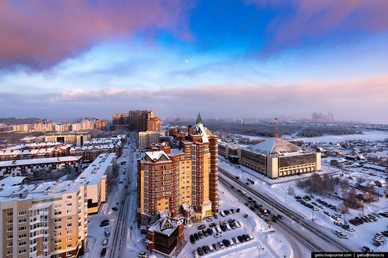 Surgut, Russia - the view from above, photo 17