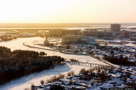 Surgut, Russia - the view from above, photo 18