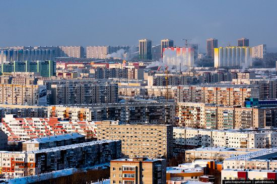 Surgut, Russia - the view from above, photo 2