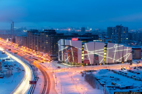 Surgut, Russia - the view from above, photo 21
