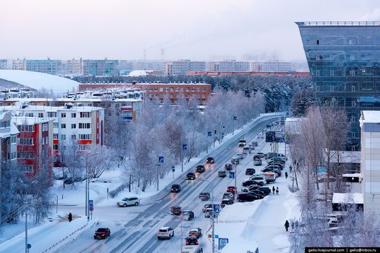 Surgut, Russia - the view from above, photo 22