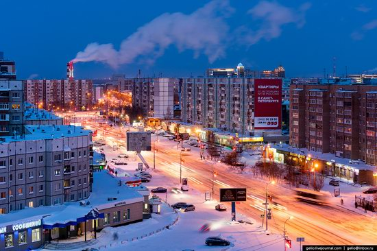 Surgut, Russia - the view from above, photo 23